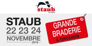 Grande Braderie Staub 22 23 24 novembre 2018